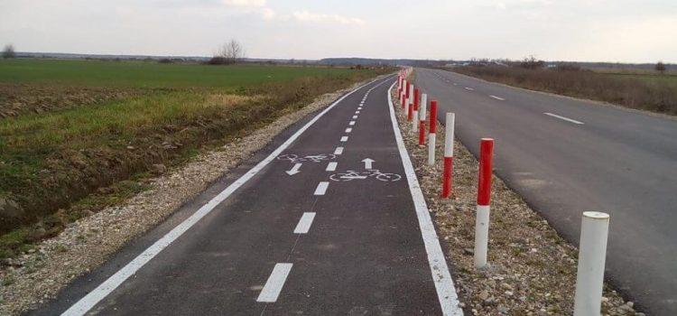 Pista de biciclete din Giroc ar putea fi întreruptă de Centura Sud a Timișoarei