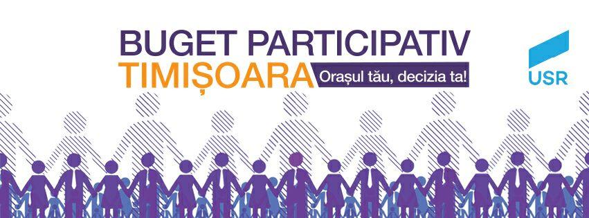 Buget Participativ Timisoara - Orasul tau, decizia ta