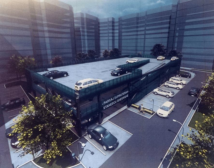 Model de parcare supraetajată în cartierele Timișoarei