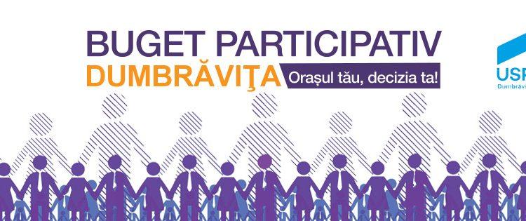 USR Dumbrăviţa: Dezbaterea publică a Bugetului Local 2018