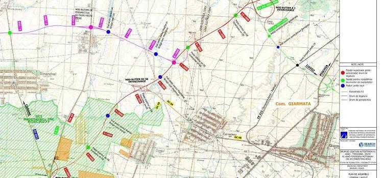 Cătălin Drulă: Amendament USR acceptat! Crește cu 10 milioane lei alocarea bugetară pentru drumul de legătură Autostrada A1 Arad-Timișoara -> DN 69