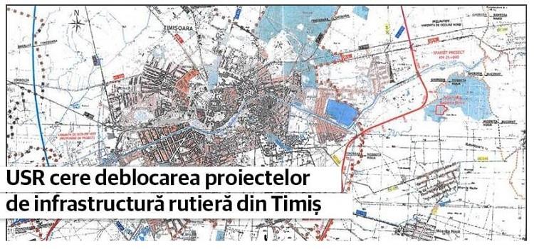 Cătălin Drulă – Scrisoare deschisă despre deblocarea proiectelor de infrastructură rutieră din Timiș