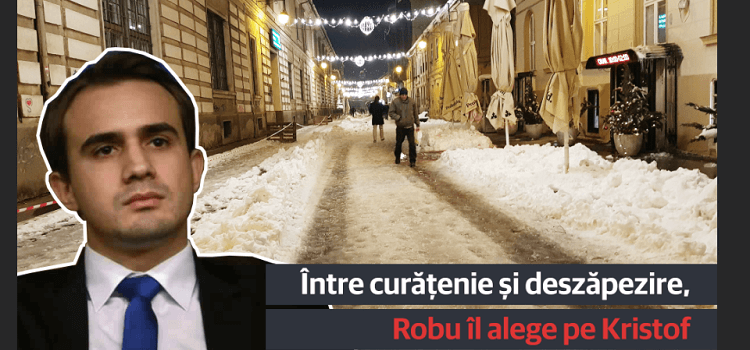 Timișoara e îngropată în nămeți de incompetență. City-manager-ul Kristof trebuie să plece!