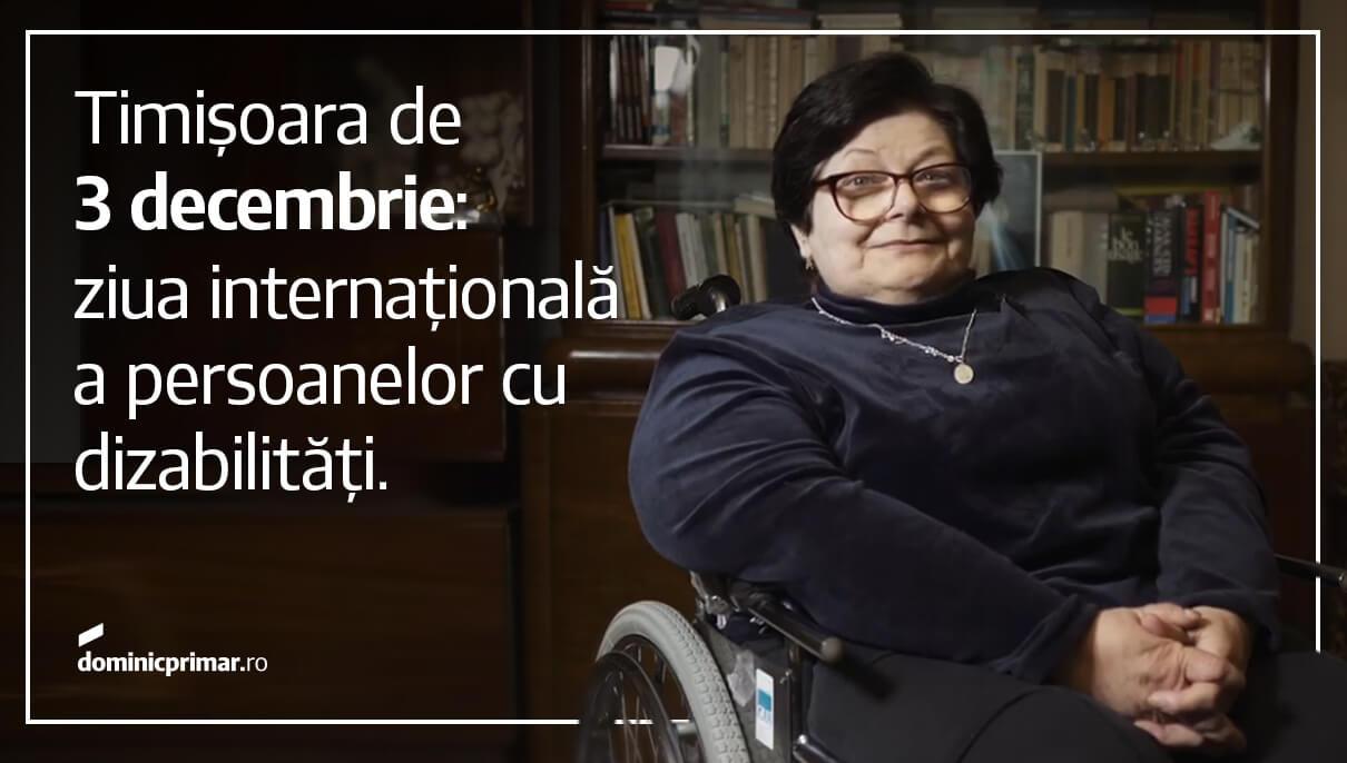 Care sunt problemele persoanelor cu dizabilități din Timișoara