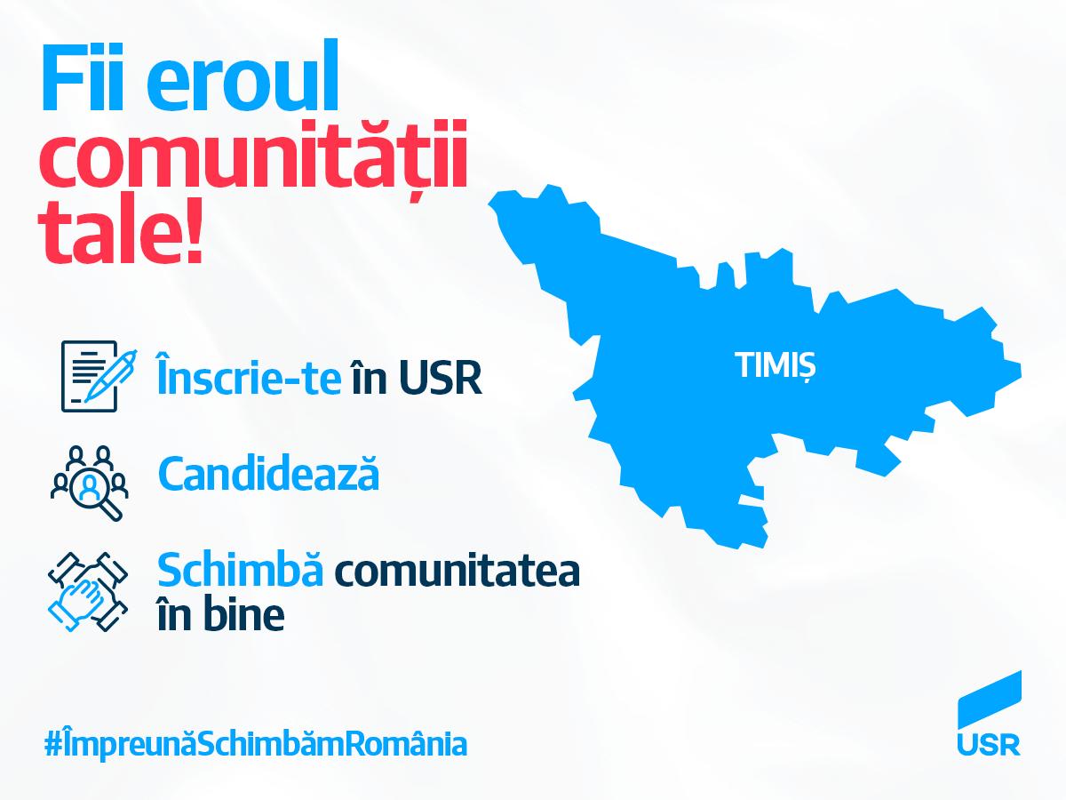 USR Timiș își sărbătorește a 62-a filială locală 🎉