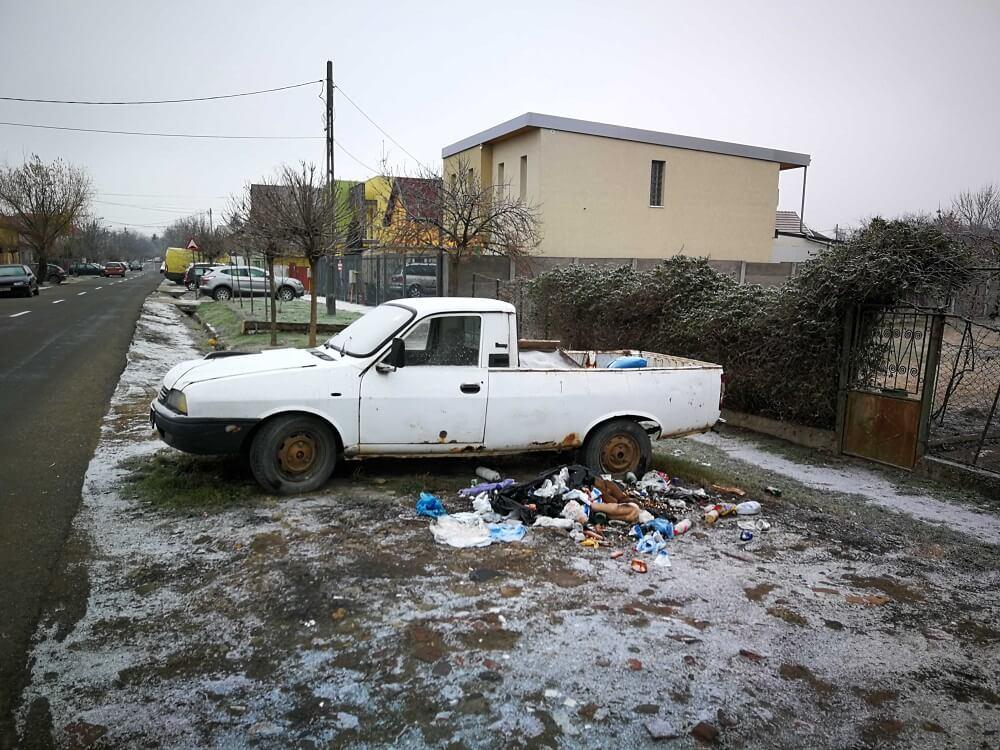 Masina fara stapan Timisoara
