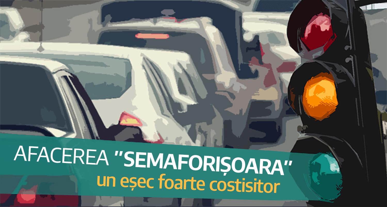 Noi semafoare în Timișoara, cumpărate de la firmele de partid