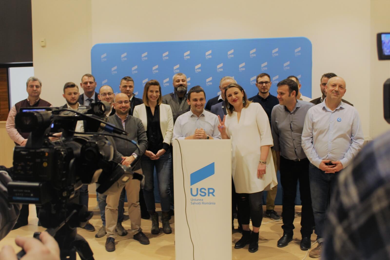 USR Timiș l-a desemnat pe Cristian Moș candidat la președinția Consiliului Județean și a definitivat lista de candidați pentru Consiliul Județean Timiș