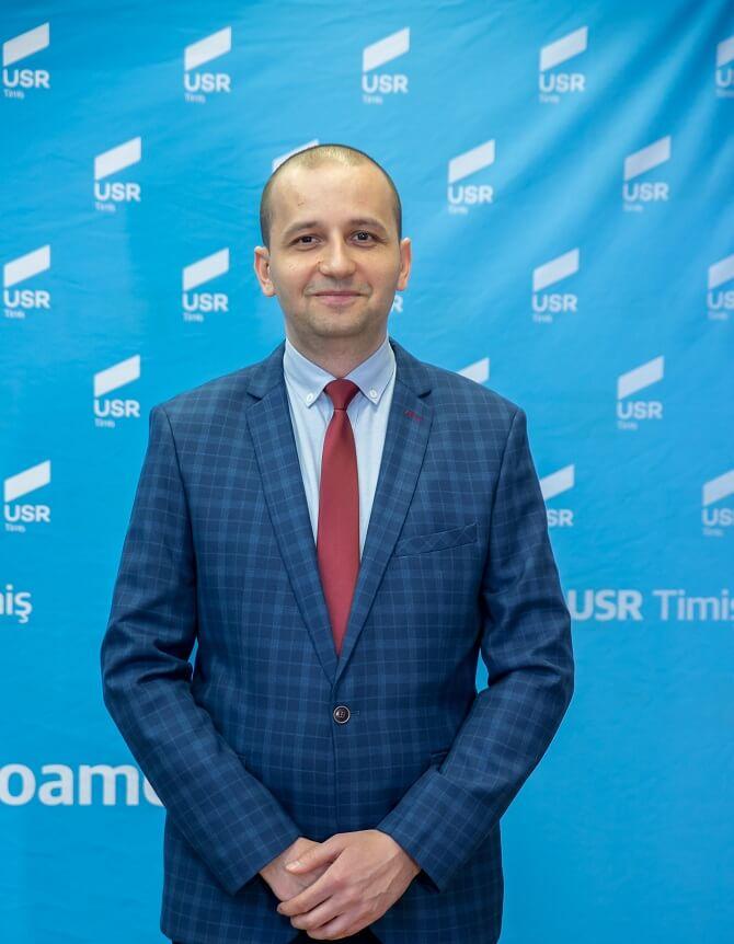 Cosmin Buzan - Candidat USR Primăria Sânmihaiu Român
