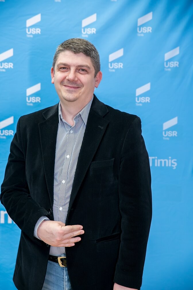 Grațian Jurca, Candidat USR la Consilul Local Sânmihaiu Român