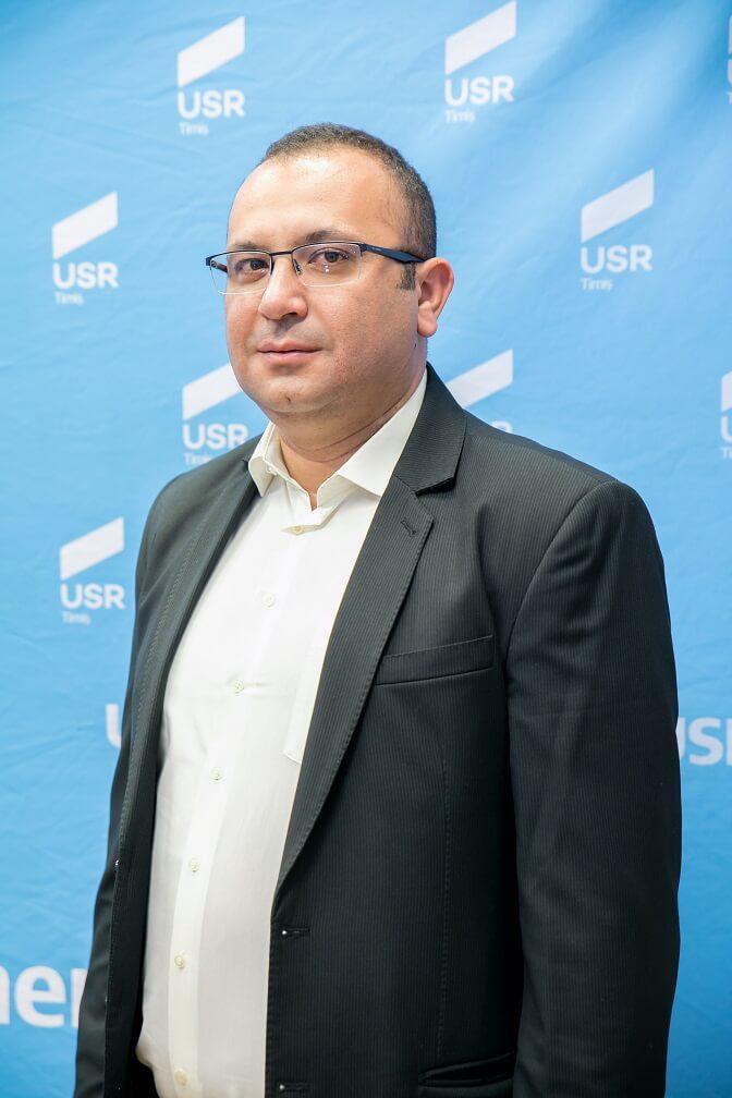 Lucian Ion Cazacu, Candidat USR la Consilul Local Sânmihaiu Român