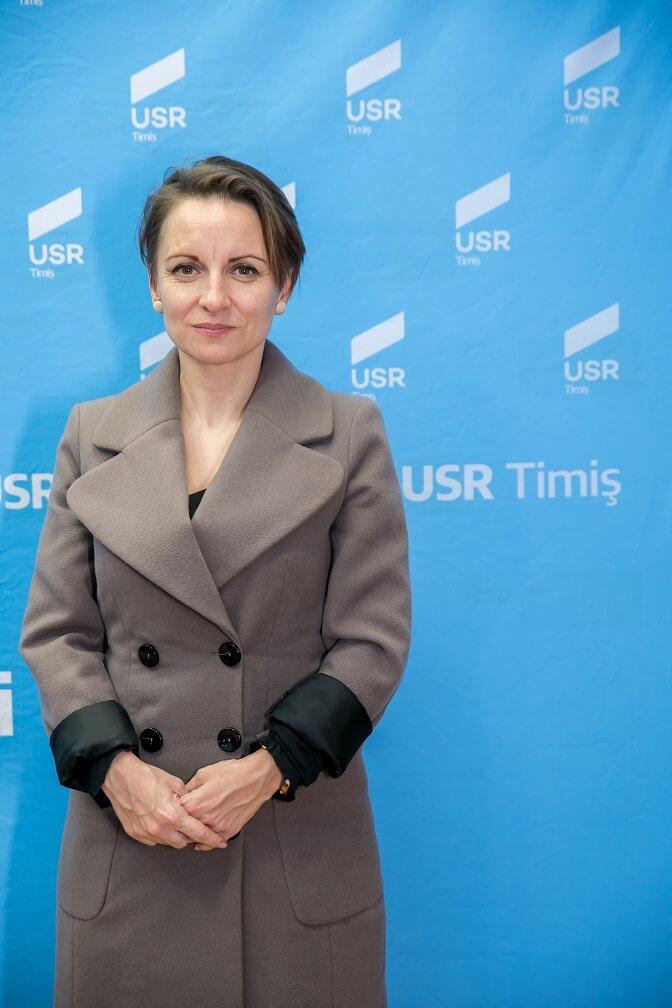 Oana Micolaiciuc, Candidată USR la Consilul Local Sânmihaiu Român