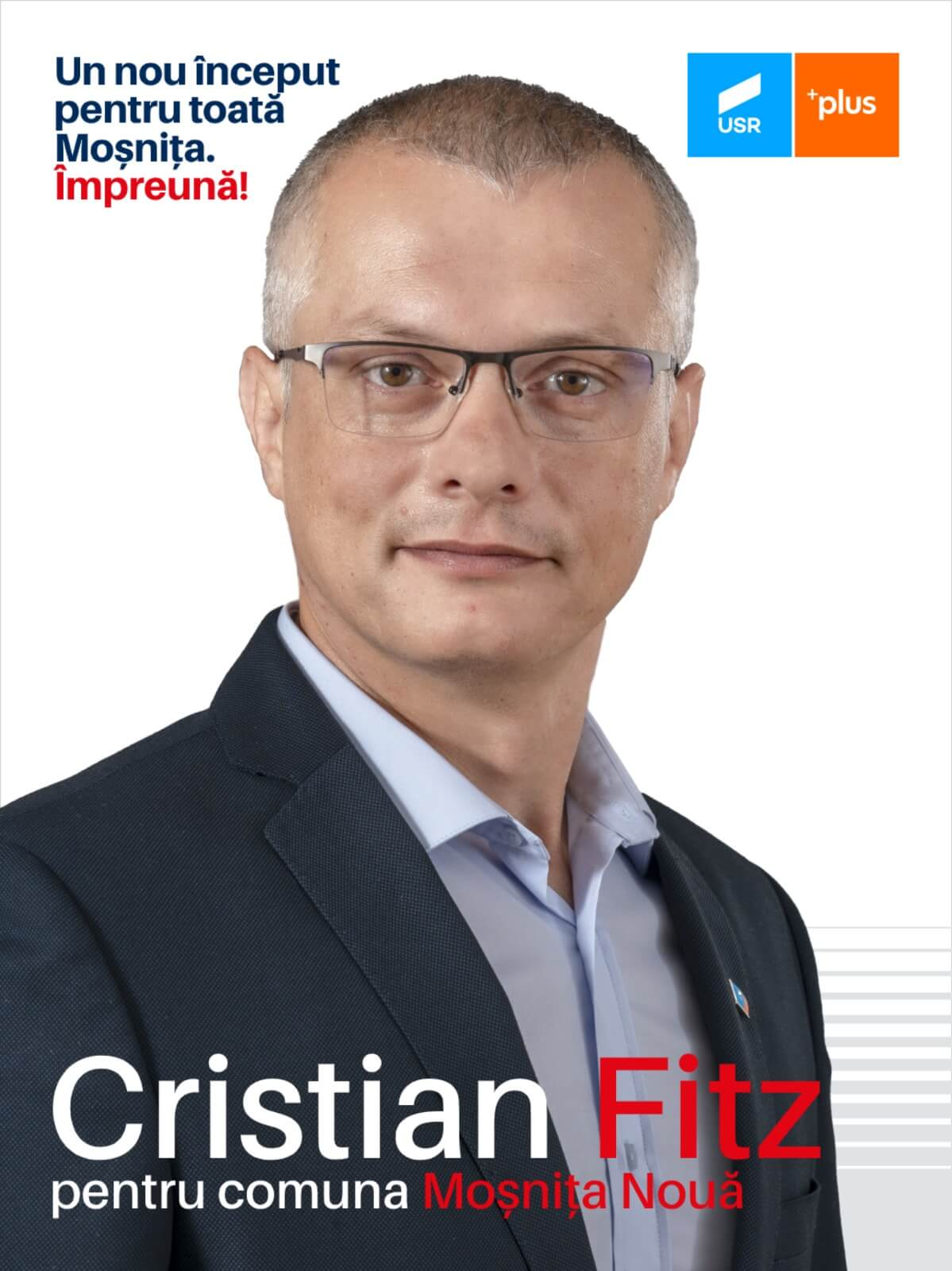 Cristian Leonard Fitz președinte Moșnița Nouă canidat Primărie Moșnița Nouă