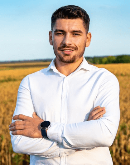 Marius Viciriuc președinte USR Becicherecu Mic candidat Primăria Becicherecu Mic